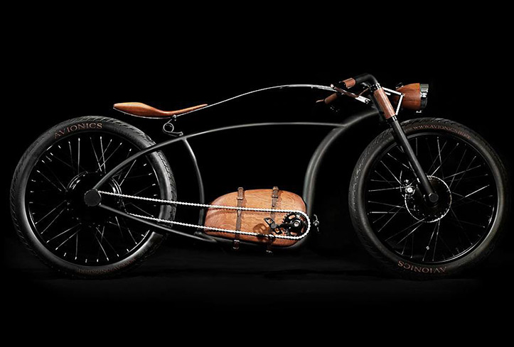 Avionics V1 \\\ A distinctive & massively powerful retro-styled e-bike