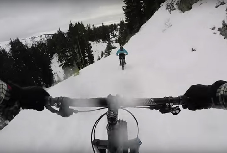 Biking On Snow: Why You Need To Ride A Fat-Bike Immediately