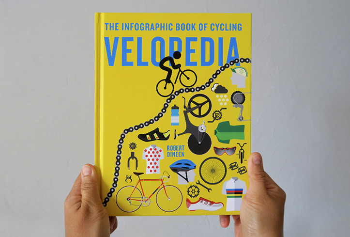 The infographic book of cycling | Velopedia by Robert Dineen