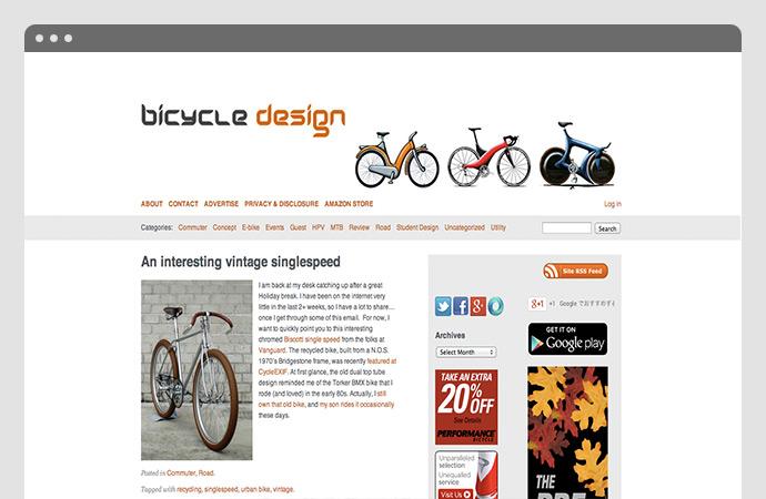 Biscotti bike feature